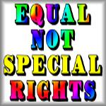 Equal, not special, rights