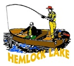 Hemlock Lake fishing