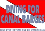 Diving for Canal Barges