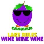 Crusher's lake rules - wine