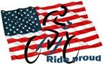 FLAG - RIDE PROUD