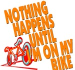 Nothing happens until...