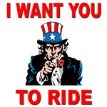 I want you to ride