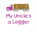 Uncles a Logger - Pink