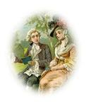 Georgian Couple In Love Portrait