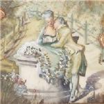 Rococo Couple In Love