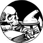 Skull - Knowledge Icon Symbol