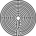 Medieval Labyrinth Symbol