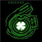 St. Patrick's Day Turbo Shirts- Black T-Shirts