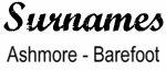 Vintage Surname - Ashmore - Barefoot