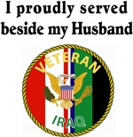 Proudly served beside my husband