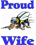 Proud Seabee Wife