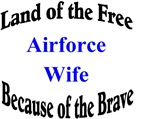 Airforce Wife Land of the Free