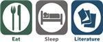 Eat, Sleep, Literature
