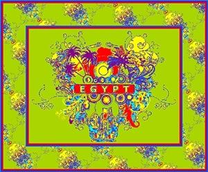 Funky Modern Retro Egypt Images