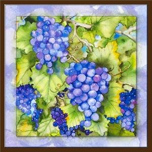 Winery Grape Art