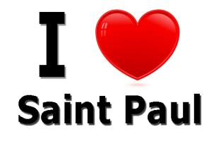 I Love Saint Paul Minnesota