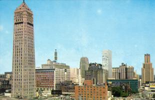 Minneapolis Skyline 1950's