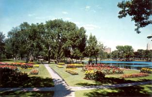 1950's Flower Gardens at Loring Park