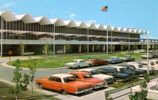 1960's Minneapolis St. Paul International Airport
