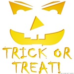 Trick Or Treat Pumpkin Face T-shirts & Gifts