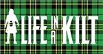 LIAK Horiz. Logo Green Tartan