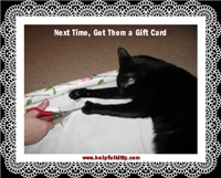 Gift Card Helpful Kitty