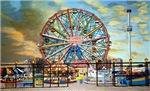 The Wonder Wheel in Wonder Wheel Park