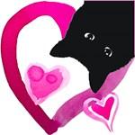 I Heart My Black Cat