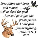Genesis 9:3 (NIV)