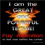 The Wizard of Tech Dark T's