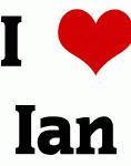 I Love Ian