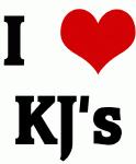 I Love KJ's