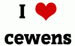 I Love cewens