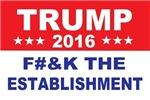 Trump Anti Establishment
