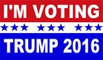 I'm Voting Trump