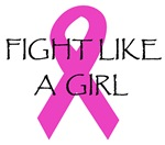 Fight Like A Girl Pink Ribbon