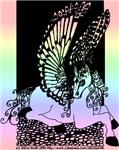 Pastel Diamond Pegasus