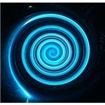 Blue Black Spiral