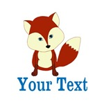 Personalizable Red Fox