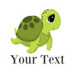Personalizable Sea Turtle