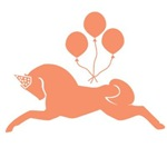 Orange Party Pony