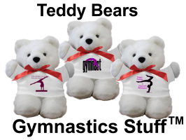 Gymnastics Teddy Bears at Gymnastics Stuff