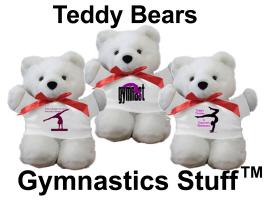 Gymnastics Teddy Bears at Gymnastics Stuff