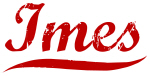 Imes (red vintage)
