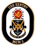 USS Sentry MCM-3 Navy Ship
