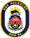 USS Bulkeley DDG 84 US Navy Ship