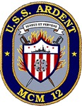 USS Ardent MCM 12 US Navy Ship