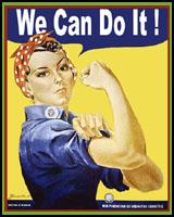 WOMEN ON WORLD WAR 2 T-SHIRTS