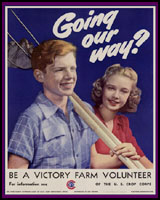VICTORY FARMS OF WORLD WAR 2 T-SHIRTS